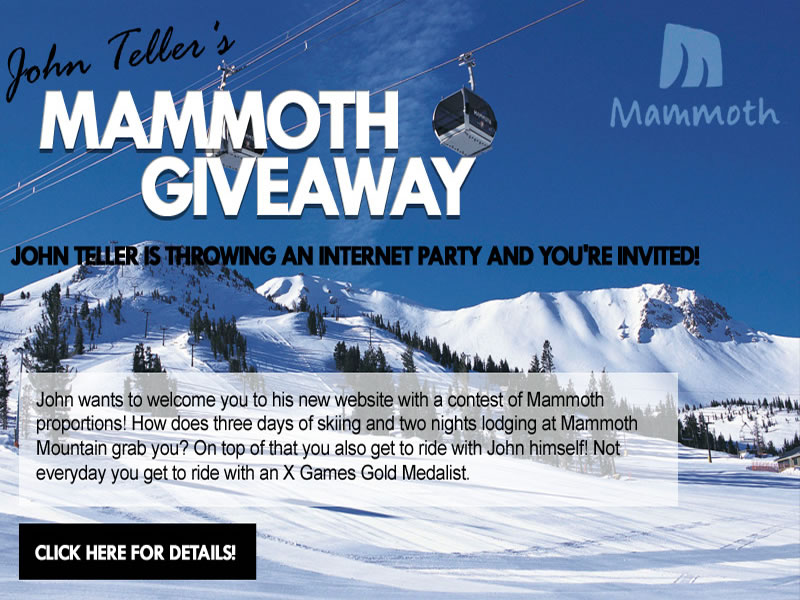 Mammoth Giveaway